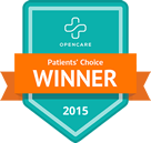 2015 Patient's Choice Winner